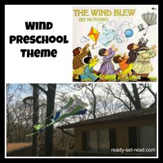 Exploring wind in #preschool and a simple windsock!