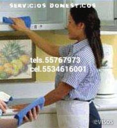 Servicios domesticos  Sirvientas de planta y entrada x salida Tels.55765468 Cel.5534616001 Toda contratacion es con 1dia ...  http://atizapan.evisos.com.mx/servicios-domesticos-5534616002-id-618202