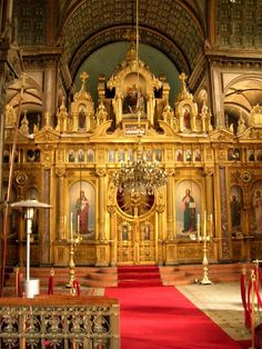The Iconostasis of Bulgar kilisesi - Balat
