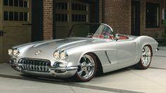 1962 #Chevrolet #Corvette Resto Mod // #Mecum #Louisville