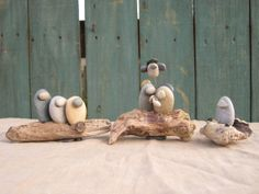 river stone nativity