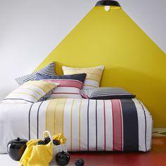 Linge de lit Escale coton/viscose de bambou #lingedelit #dream #blancheporte