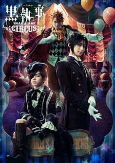 El cuarto musical de teatro de Kuroshitsuji adaptará el arco del circo.
