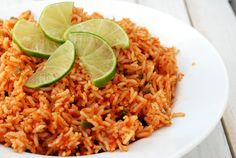 Mexican Rice Recipe | Cake and Allie