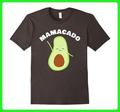Mens Mamacado Mom and Avocado Funny Pregnancy T-Shirt Large Asphalt - Relatives and family shirts (*Amazon Partner-Link)