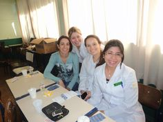 5º semestre do curso de Enfermagem - Manhã. Por Agatha Boff