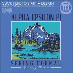 Alpha Epsilon Pi   AEΠ   Spring Formal   Gatlinburg Tennessee   TGI Greek   Greek Apparel   Custom Apparel   Fraternity Tee Shirts   Fraternity T-shirts   Custom T-Shirts