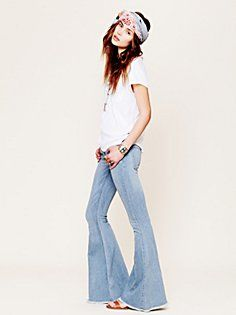 Denim Super Flare in current-catalog