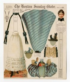 75.2054: Fall Street Costume | paper doll | Paper Dolls | Dolls | National Museum of Play Online Collections | The Strong