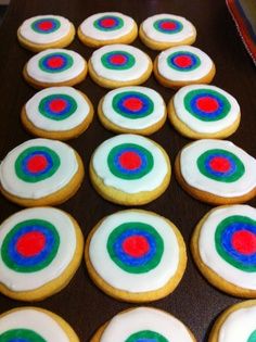 Target cookies for disney Brave party