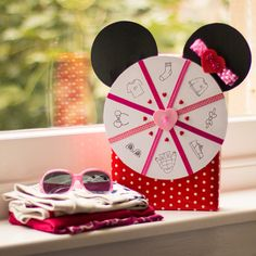 Ruleta para jugar a la moda de Minnie