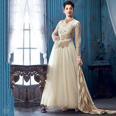 Offwhite Anarkali at just 4045/-   #whtie #mugdhaghodse #musthave #floorlengthanarkalis #anarkalis #embroidered #getiitnow #peachmode #shopnow #indian #indianfashion #gorgous #womensfashion #womensclothing #pinterest #pinit #boards