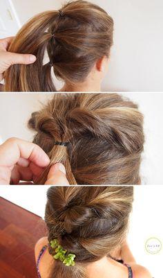 easy hair up do