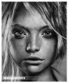 Attention, ce ne sont pas des photographies #Pencil #Drawing