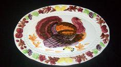 "Vintage Turkey Platter - Made in Japan - 18.5"" x 14"" - NICE!"