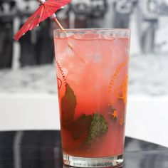 Rhum Swizzle: A swizzle is an icy drink named for the tool used to mix it, traditionally fashioned out of a woody stem. The base for this swizzle is rhum agricole, made from fresh cane juice in the French-speaking Caribbean islands.