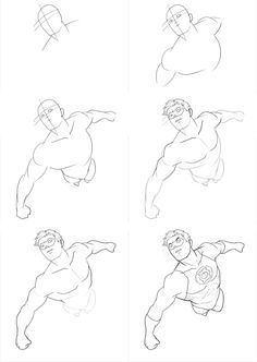 How to draw flying Green Lantern. In this tutorial, you will learn how to draw Green Lantern in dynamic flying pose. Fly Drawing, Comic Drawing, Figure Drawing, Drawing Sketches, Drawing Superheroes, Drawing Cartoon Characters, Character Drawing, Cartoon Drawings, Gesture Drawing
