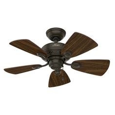 "Hunter Fans 34"" Watson 5 Blade Ceiling Fan & Reviews 