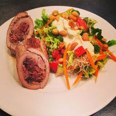 Lykkes Lækkerier: Søgeresultater for Svinemørbrad fyldt med bacon og tranebær - Sous vide
