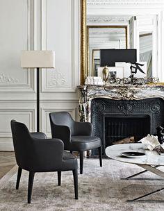 Un coin classique | design d'intérieur, décoration, pièce à vivre, luxe. Plus de…