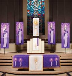 """""""Advent"""" Paraments by Praise Banners"""