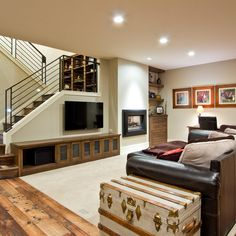 Toronto Basement Design Ideas, Pictures, Remodel and Decor