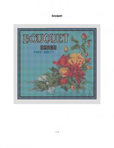 free cross stitch patterns from vintage fruit crate label art Fruit Crates, Old Advertisements, Vintage Cross Stitches, Needle And Thread, Vintage Patterns, Blackwork, Needlepoint, Cross Stitch Patterns, Needlework