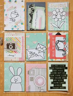 Mrs Brimbles: Incoming & outgoing Pocket Letters