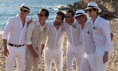 roupa masculina para casamento na praia - Noivo e Padrinhos