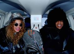 Grinning from ear to ear, Beyonce and Jay Z looked happy together while bundled up on a recent trip to Iceland. Queen Bey shared a slew of snaps on her Tumblr page on Dec. 24, 2014.