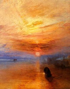 The finest painter Great Britain has produced -- J.M.W. Turner