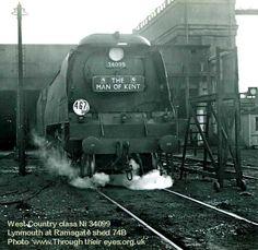 Southern Trains, Southern Railways, Merchant Navy, Steam Railway, Bullen, British Rail, Steam Engine, Steam Locomotive, Train Tracks