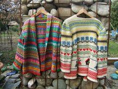 modèle tricot jacquard norvegien