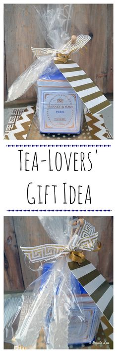 Easy gift idea for tea lovers: pair a tin of tea (we like Harney & Sons Paris blend or Hot Cinnamon Stick) with a several sticks of rock candy to sweeten your cuppa.  If you want a larger gift, add a gift card to a local coffee shop or tea house, or include a pretty teacup or vintage silver teaspoon.