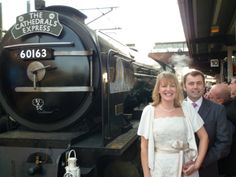 """a completely unforgettable experience. Our day was superb and we loved every minute of it."""" - A couple who had their wedding reception on a steam train after their wedding in York, England. Wedding Reception, Wedding Venues, York England, Party Catering, Train Travel, Cathedrals, Unique Weddings, Events, Couple"""