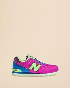 New Balance Girls' Pop Safari 574 Sneakers - Kids - of course