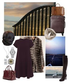 """Untitled #1431"" by duchessq ❤ liked on Polyvore featuring Burberry, 'S MaxMara, Pour La Victoire, Tod's, Sole Society, Tiffany & Co., Marc by Marc Jacobs, Roberto Coin and Blue Nile"