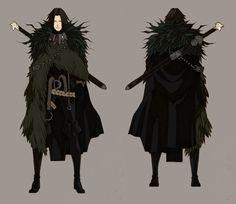The Crow Jon Snow - concept by MizaelTengu on DeviantArt