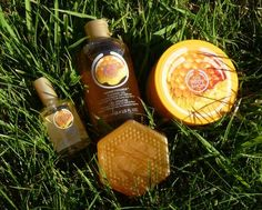 Honeymania - The Body Shop..... Tried it, bought it & I love it <3 I'm not into the honey smell too much but this surprised me!