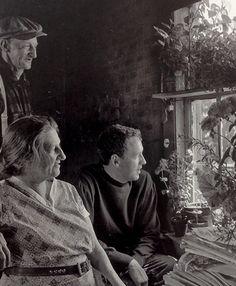 "rickinmar: ""Christina Olson and Andrew Wyeth. Andrew Wyeth Paintings, Andrew Wyeth Art, Jamie Wyeth, Robert Motherwell, Richard Diebenkorn, Jackson Pollock, Artist Life, Artist At Work, Keith Haring"