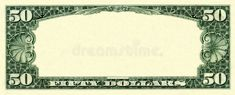 Photo about Old fifty dollars empty frame isolated on white. Image of border, fifty, decoration - 8506752 Play Money Template, Bill Template, Frame Template, Money Frame, Empty Frames, Money Order, Stock Photos, Cheddar, Pattern
