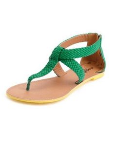 Perfect sandals for a #Baylor Bear