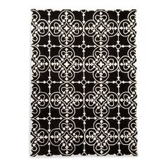 I pinned this Lace Rug in Black from the Calligaris event at Joss & Main!
