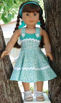 18 Doll Clothes 1950's Style Jumper and Shrug by Designed4Dolls