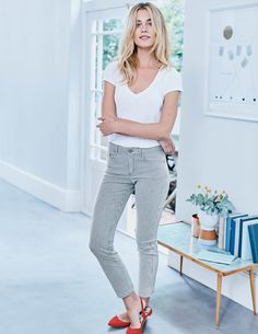 Cambridge Ankle Skimmer Jeans WC183 Jeans at Boden