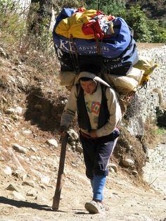 Sherpas On Mount Everest