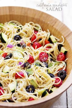 Cold Spaghetti Pasta Salad Recipes With Italian Dressing.Cold Pasta Salad With Italian Dressing Scrambled Chefs. Easy Cold Pasta Salad With Italian Dressing Delightful . Pasta Salad With Italian Dressing Plated Cravings. Home and Family Cooking Recipes, Healthy Recipes, Cookbook Recipes, Cooking Ideas, Diet Recipes, Healthy Snacks, Pasta Salad Recipes, Summer Salads, Summer Pasta Salad