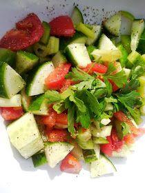 Fresh Summer Vegetable Salad