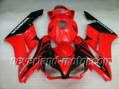 Honda CBR 1000RR 2004-2005 ABS Verkleidung - Rot/Schwarz #hondacbr1000rrverkleidung #verkleidunghondacbr1000rr