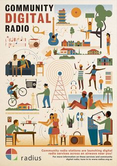Radio Stations - by Mike Lemanski for Community Broadcasting Association of Australia. Client: CBAA